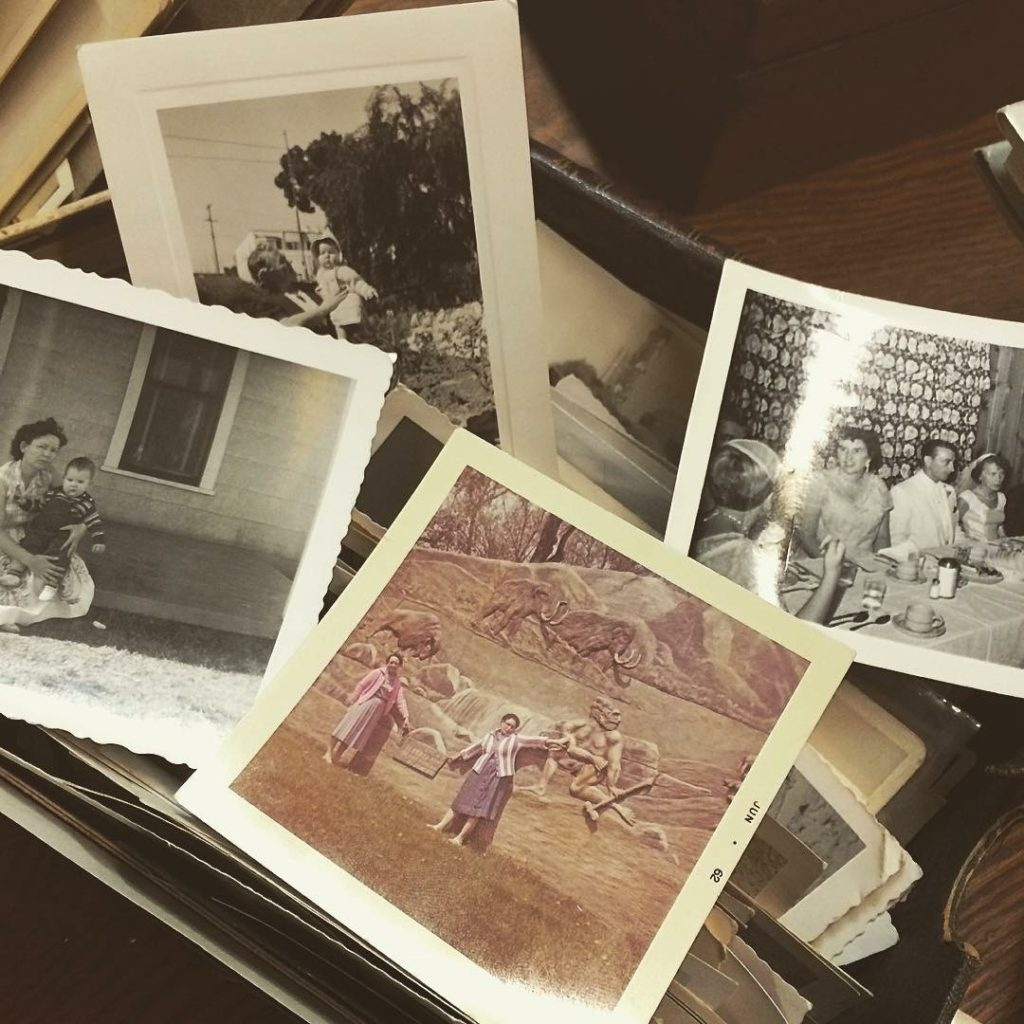 Looking at these pictures are my absolute favorite thing to do. These are someone's memories, someone's family. These pictures tell a story, and I love trying to figure out what that story is. This is a real life peek into history. I just love it.