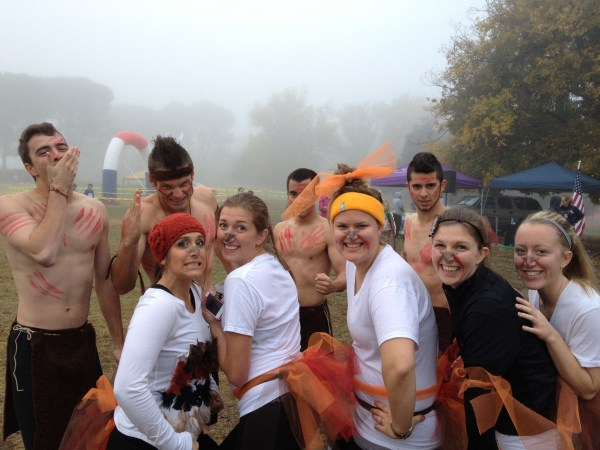 Looking very festive Turkey Trotters. Nicely done!