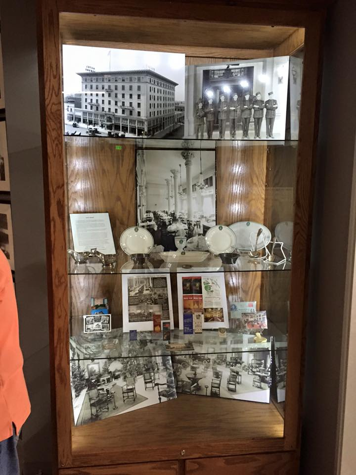 Rocha's collection and Pop Laval's photos of the hotel on display at the Fresno County Historical Museum.