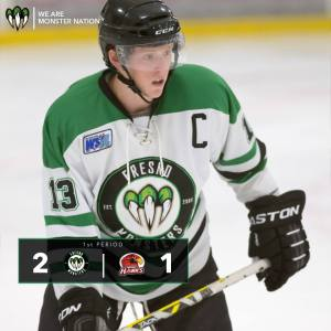 Fresno Monsters' Captain Mark Shroyer talks hockey…and more hockey