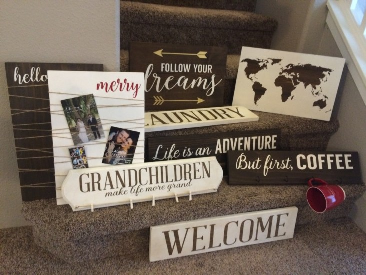 more signs from Anchor and soul crafts signs