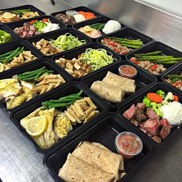Delicious EZ Fit Meals all ready to make someone's dinner awesome!