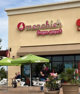 Menchie's Marketplace at El Paseo Location near 99 on W. Herndon