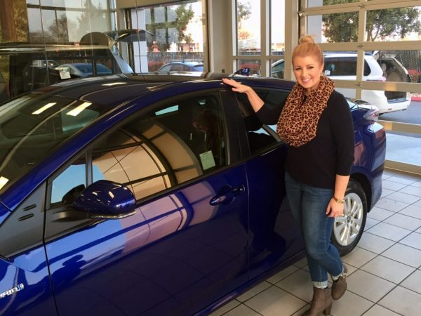 So pleased with my latest experience! (My first time getting a bold colored car, it's fun!)