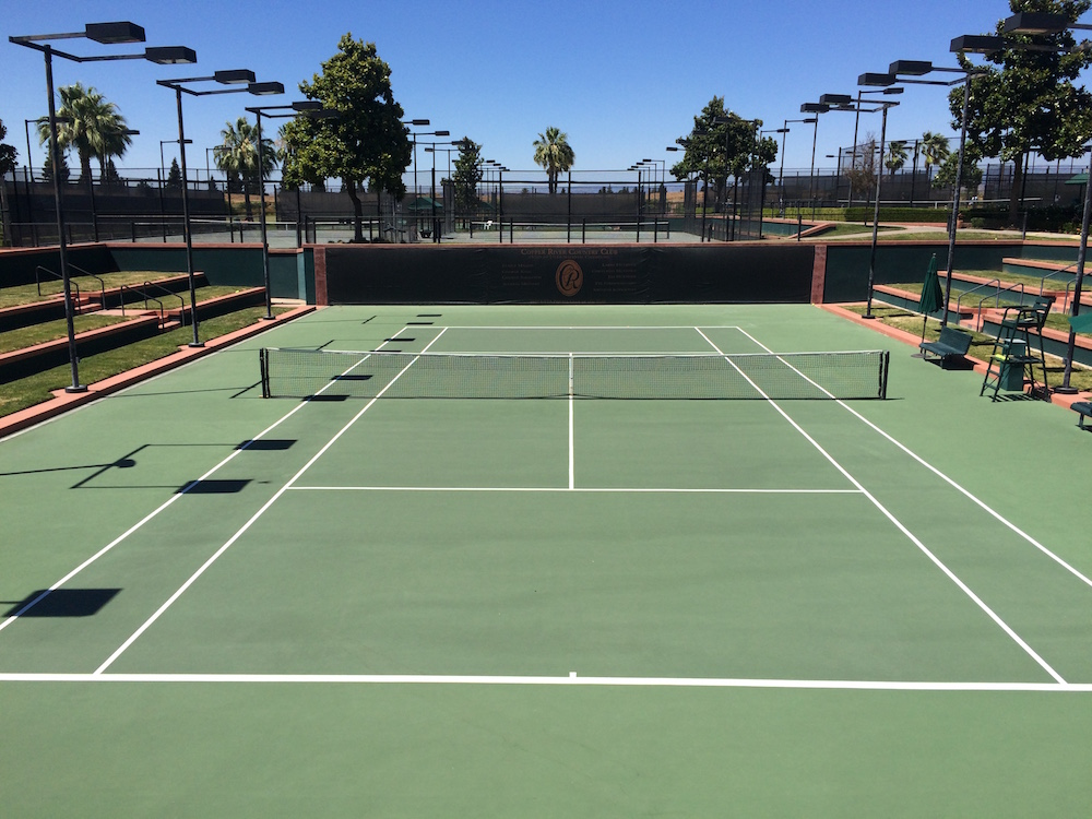 Copper River tennis courts