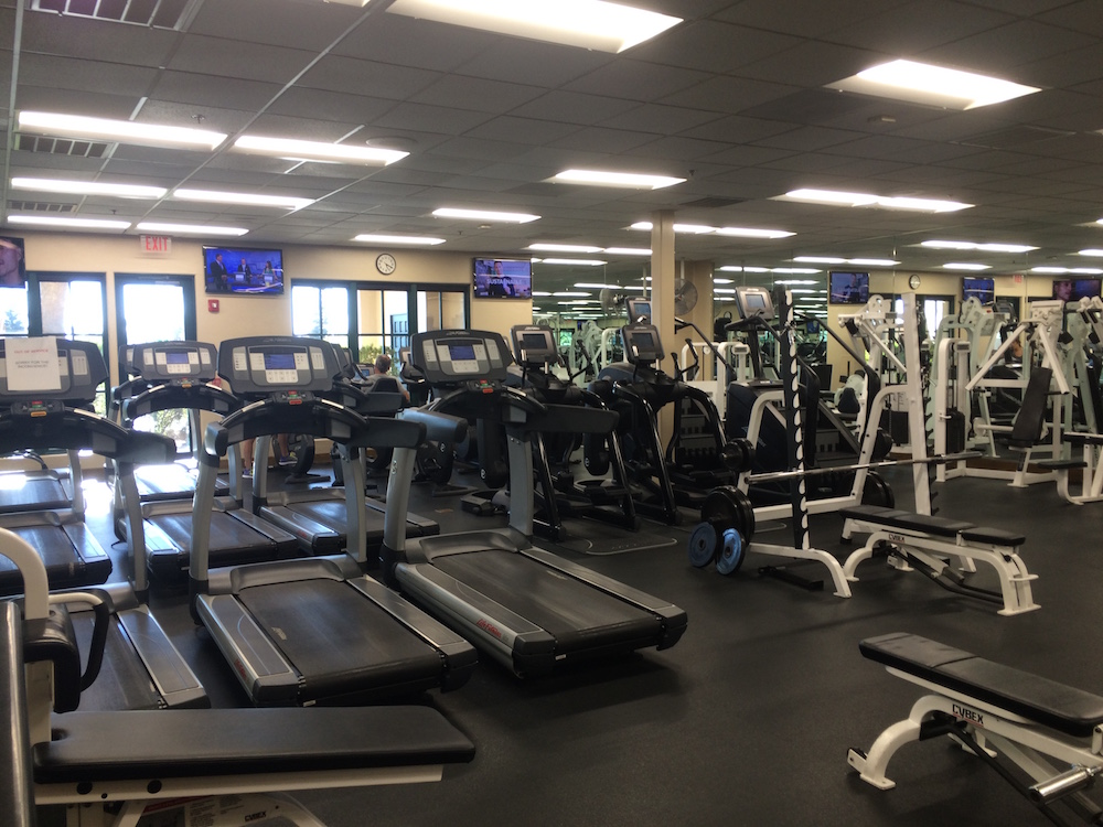 Copper River Country Club Fitness room