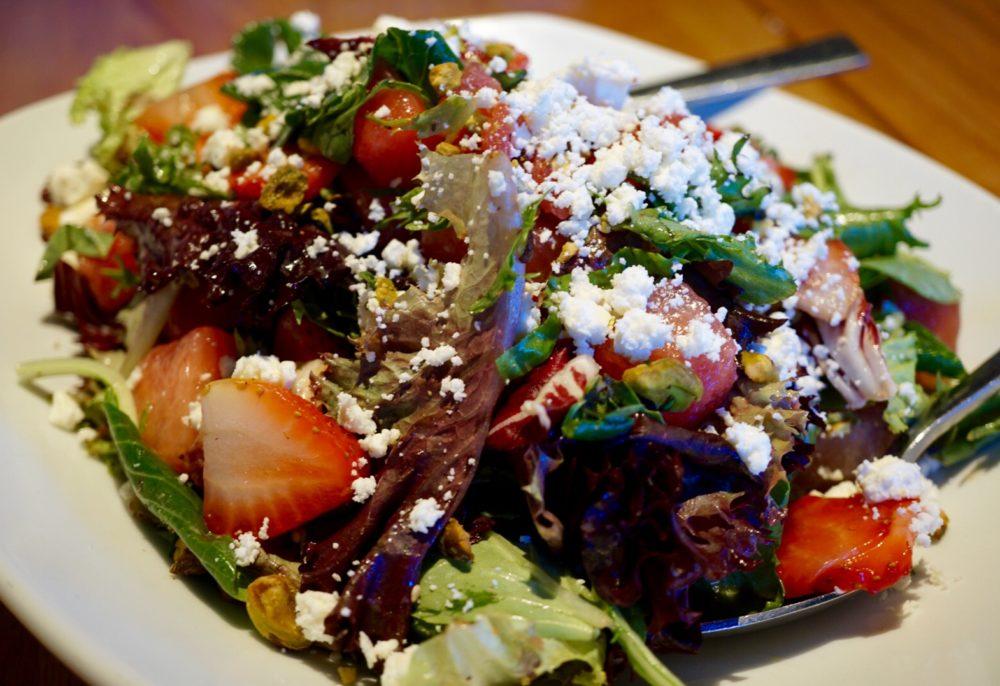 Strawberry Watermelon Salad