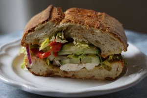 Cook Local – Stuffed Greek Sandwich