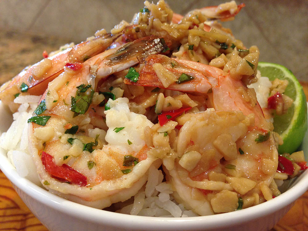 Garlic Shrimp Bowl