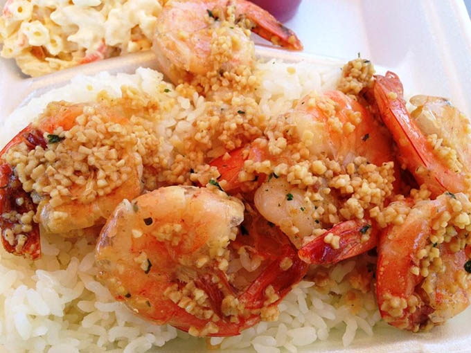 garlic shrimpfy