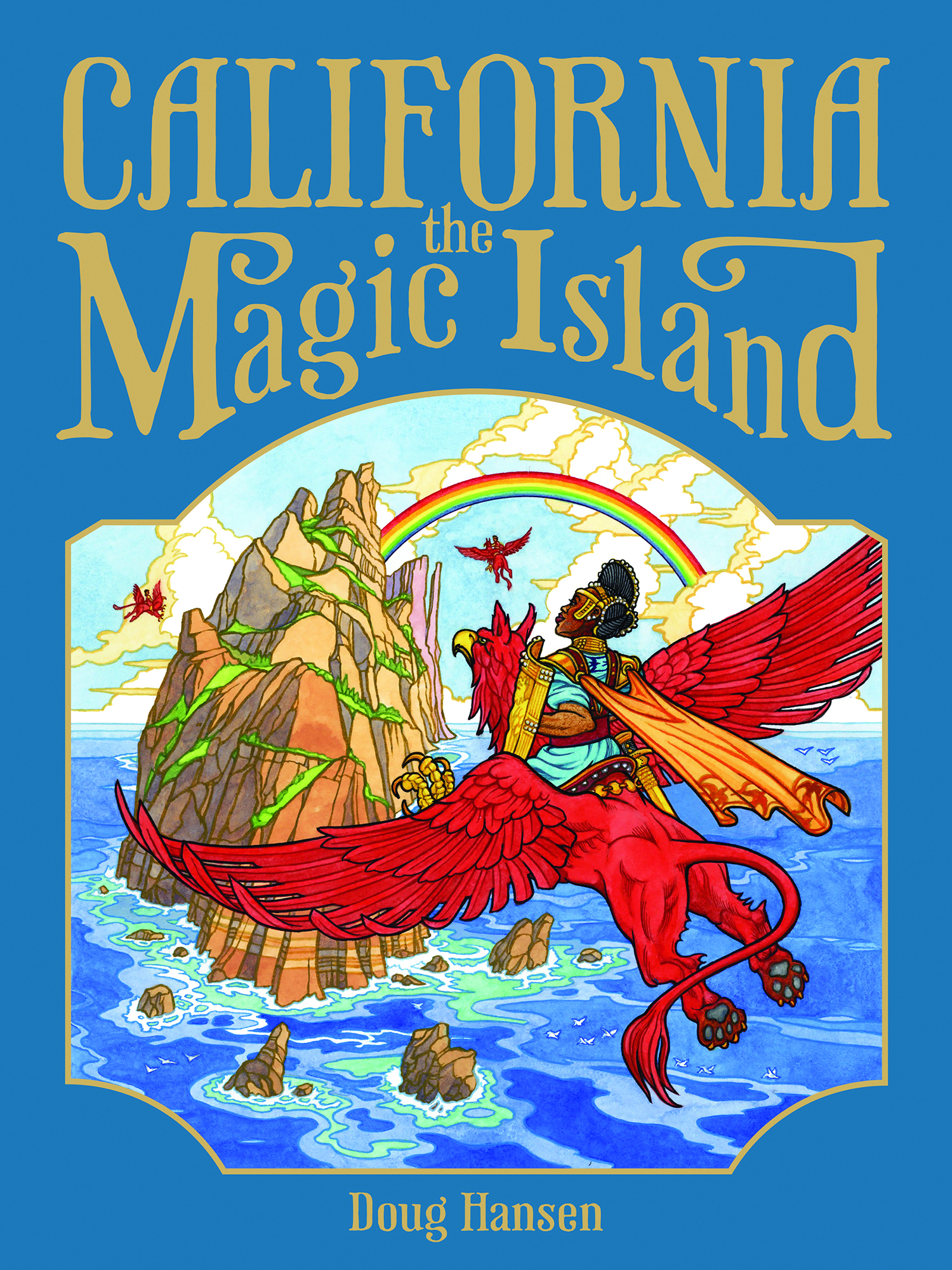 California the Magic Island Cover courtesy of Doug Hansen
