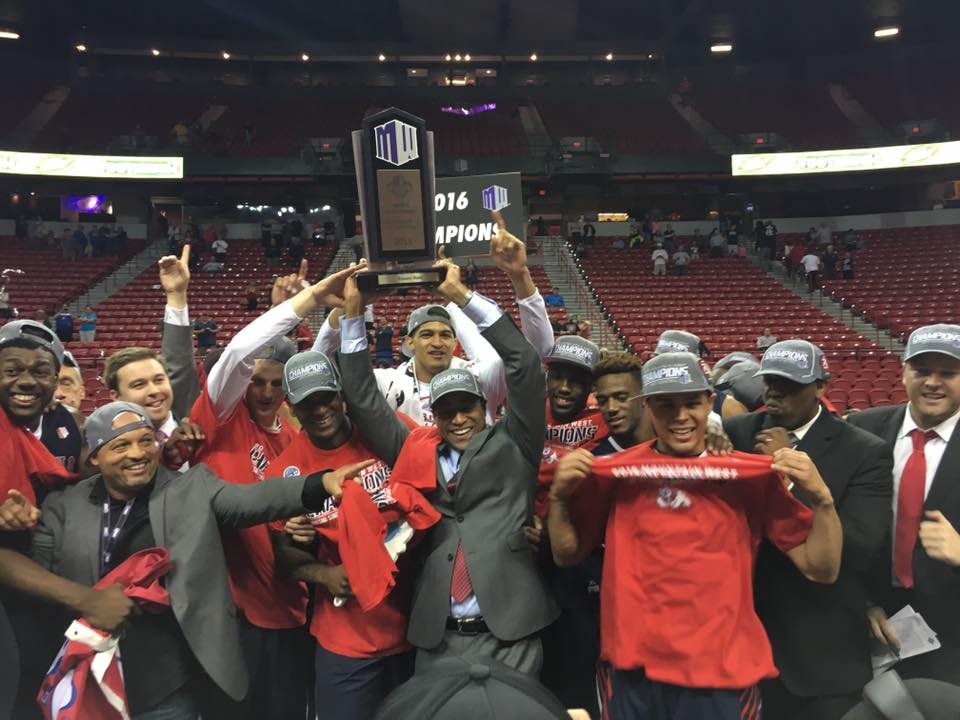 2016 Mountain West Champions! - From Fresno State Athletics Facebook