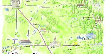 Natasha Holland Makes Local Maps an Artform