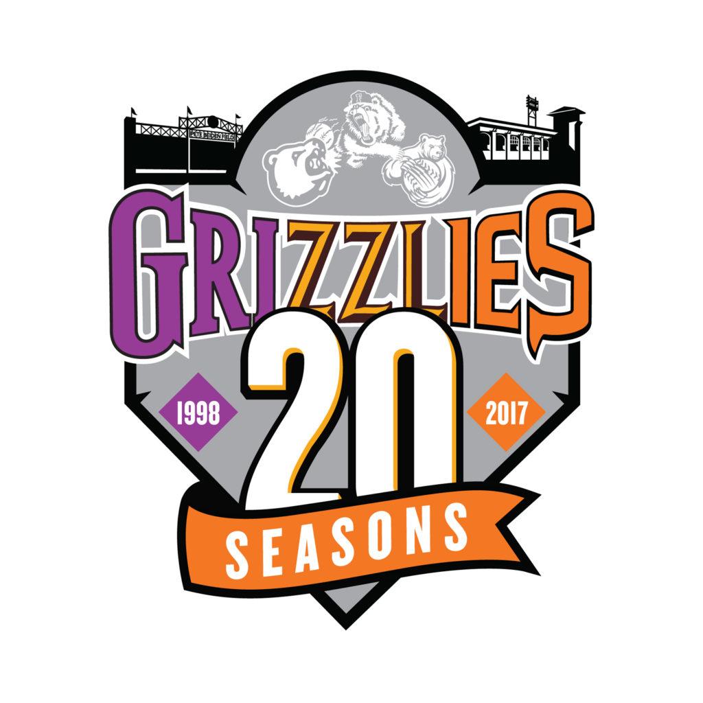 fresno-grizzlies-20th-anniversary-logo