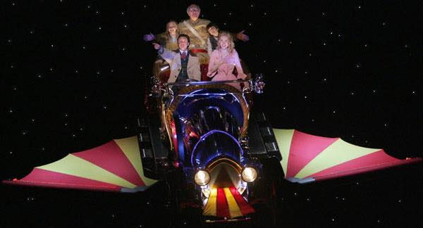 """Chitty Chitty Bang Bang, our fine four fendered friend"""