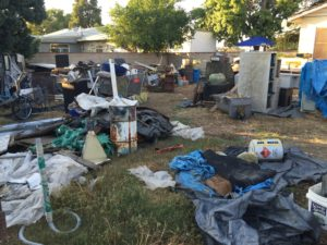 hoarding and real estate