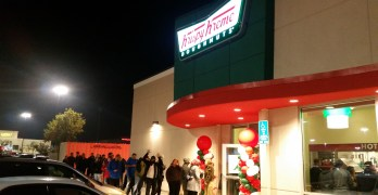Back in Fresno – Krispy Kreme!