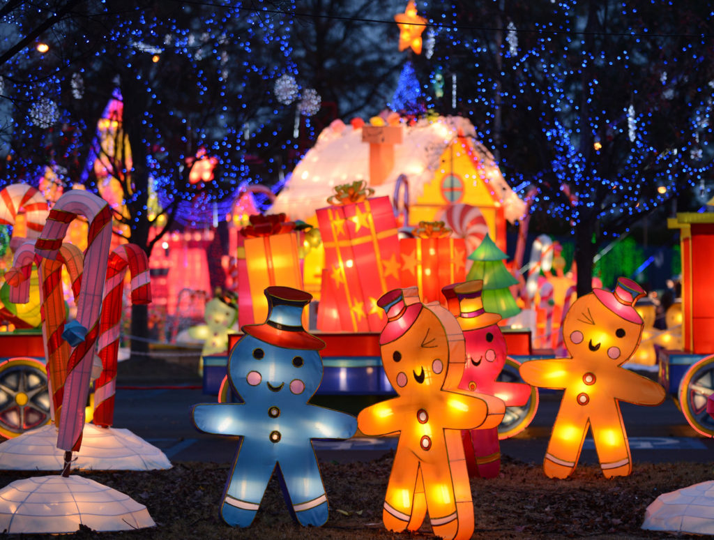 Global Winter Wonderland in Tulare