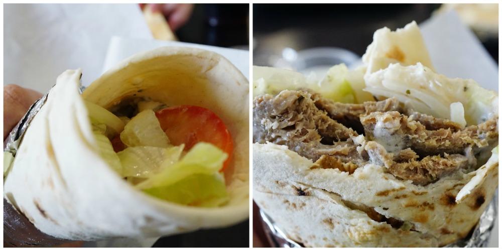 Traditional Gyro Sandwich Wrap