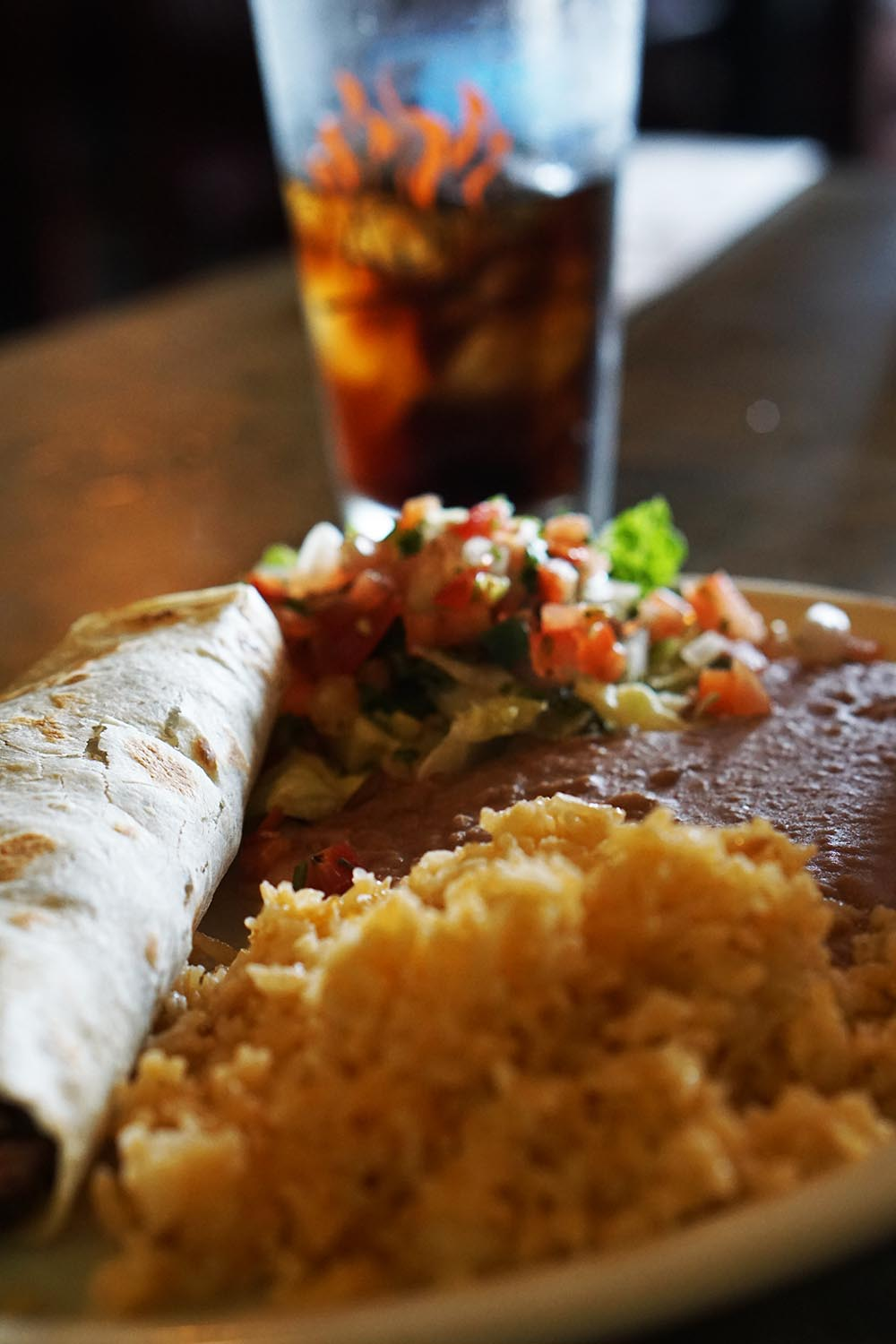Tacos el Carbon - rolled tortillas filled with your choice of chicken or steak.