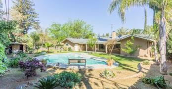 Custom Home with Open Floor Plan and Pool