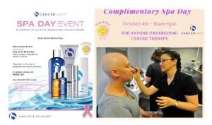 Spa Day for cancer therapy patients will be held in October
