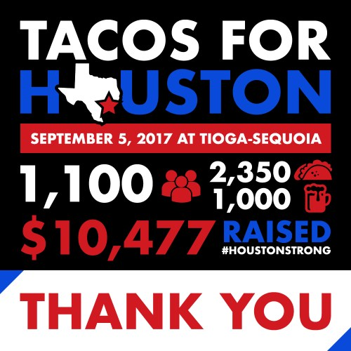 tacos for Houston