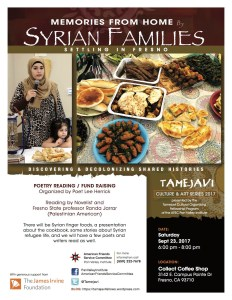 """Memories from Home"" event aids Syrian refugees in Fresno"