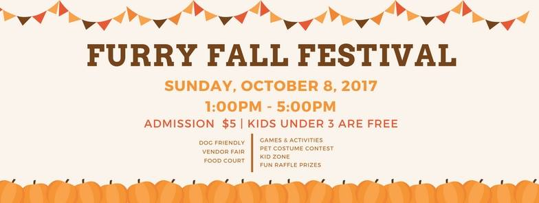 Furry Fall Festival