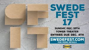 Bust out the cardboard and the camera—Swede Fest 17 is coming