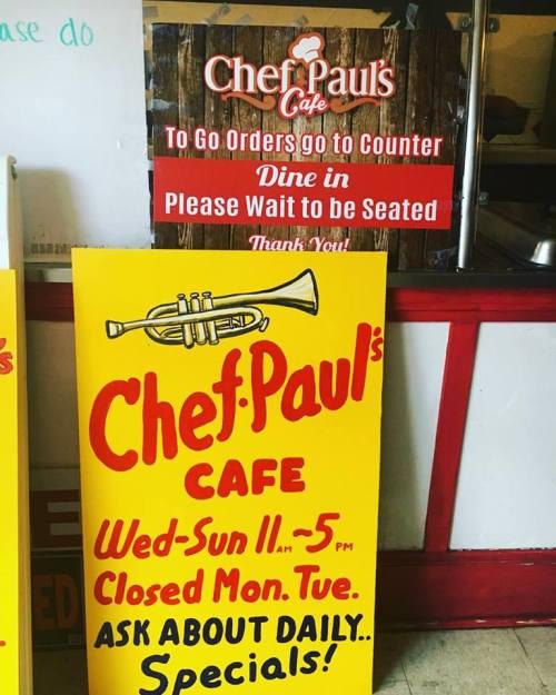 Fresno flavor Chef Pauls