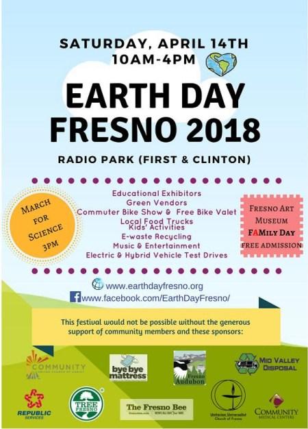 earth day Fresno 2018