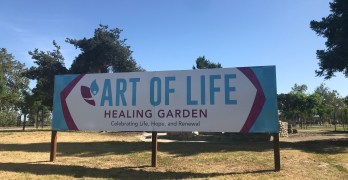 Visit the Art of Life Healing Garden at Woodward Park