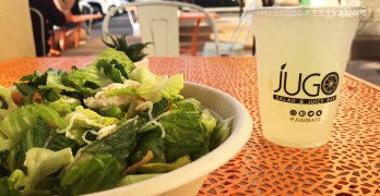 Get fresh-pressed juices and custom salads at newly opened Jugo