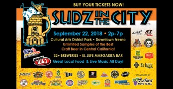 Sudz in the City is returning to Downtown Fresno!