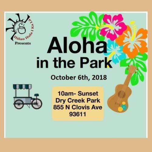 Aloha in the Park