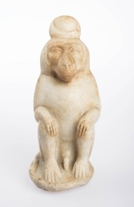 Baboon of Thoth, Egyptian, Roman Period