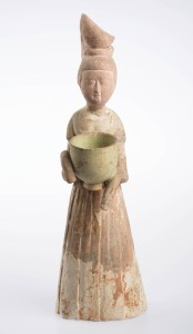 Female statuette, Chinese, T'ang dynasty