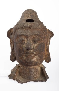 Head of a Bodhisattva, Chinese, Ming Dynasty