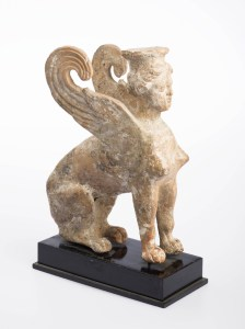 Sphinx, Greek, late 5th - early 4th century
