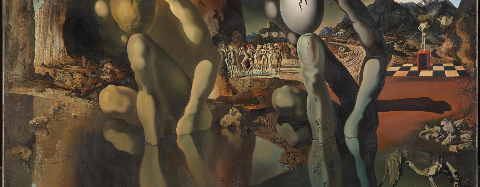 Metamorphosis of Narcissus 1937 Salvador Dali