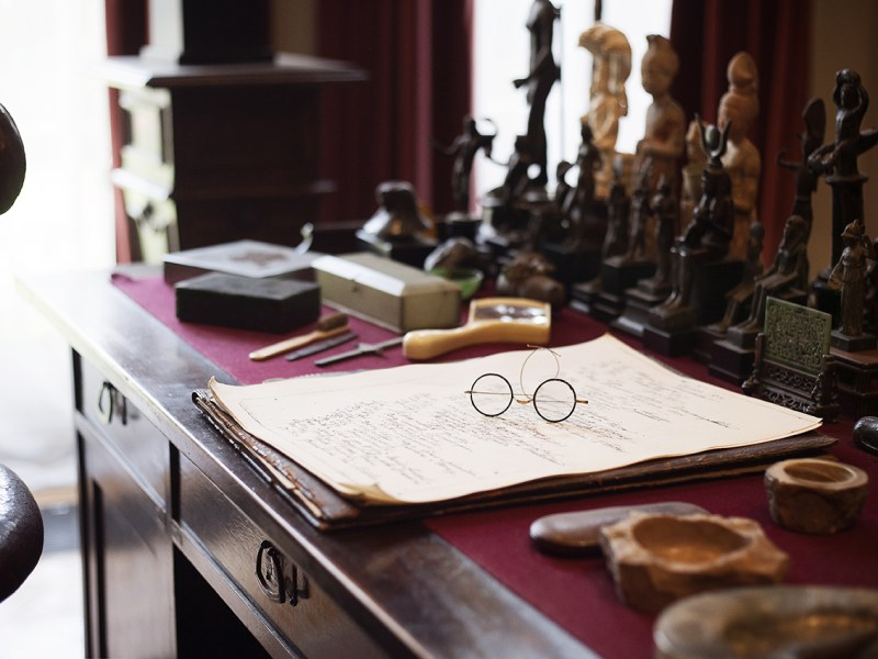 Freud's desk