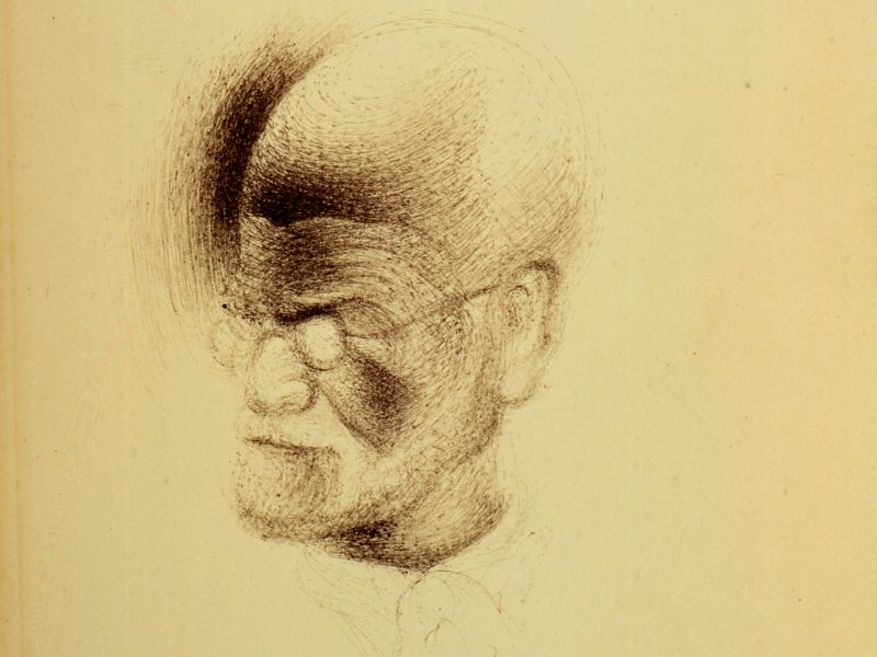 Sketching Freud: Dalí's portraits, from life?