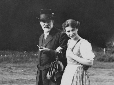 Sigmund and Anna Freud Donate