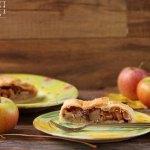 Apfelstrudel mit Blätterteig