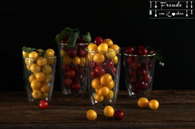 Kriecherl Marmelade - Ringlotten Konfitüre - Rezept vegan - Freude am Kochen