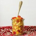Indischer Mais Snack – Spicy Corn Chaat