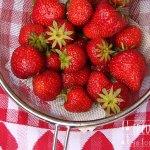Erdbeer Pfirisch Bowle