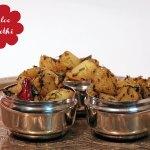 Aloo Methi – Indische Kartoffel mit Methi (Bockshornklee-Blätter)