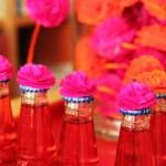 Update 2: Sweet-Table pink & orange –> mittlerweile wird schon gebastelt